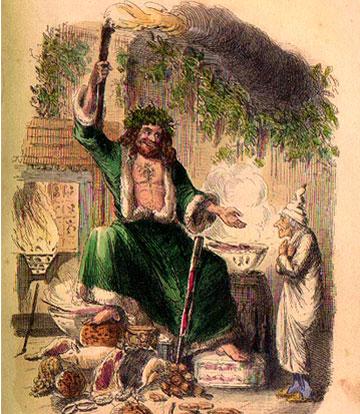 Αποτέλεσμα εικόνας για ghost of christmas present paintings