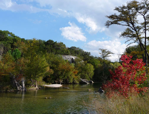 medina river bandera city park texas