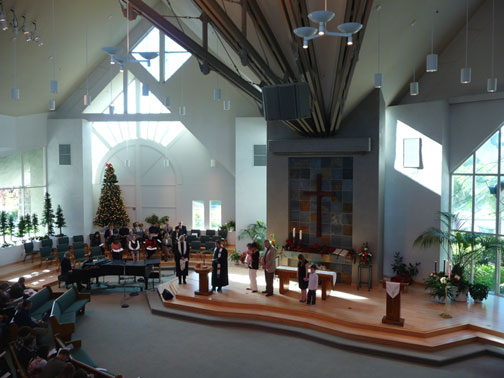 irvine presbyterian church sanctuary worship