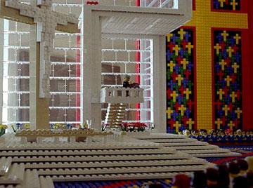 lego church pulpit