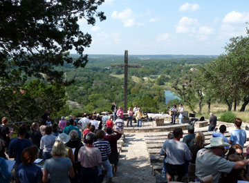 mo ranch outdoor chapel