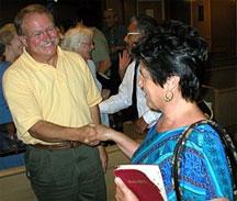 greeting in church